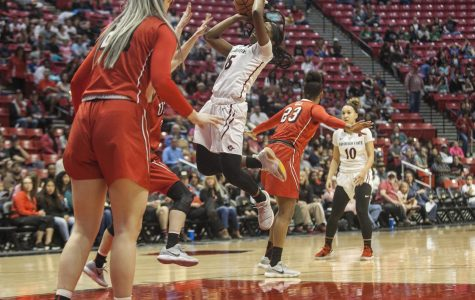 Aztecs squander early lead in 75-64 loss to UNLV
