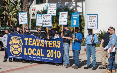 Maintenance workers protest unfair wages, repair backlog