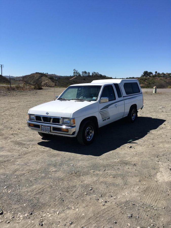Will Fritz's 1995 Nissan Pickup in Temecula.