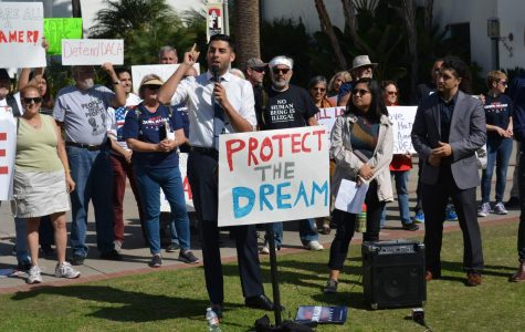 Congressional candidate joins DACA advocates for rally at San Diego State