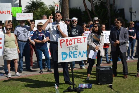SDSU students rally against DACA decision