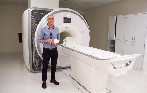 New MRI machine soon to be operational at SDSU