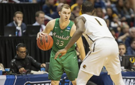 NCAA tournament at Viejas:  No. 13 Marshall upsets No. 4 Wichita State, 81-75