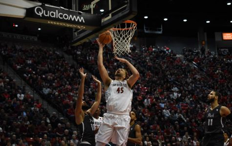 Aztecs end regular season with 79-74 win over No. 21 Nevada