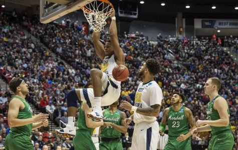 NCAA tournament at Viejas: No. 5 West Virginia advances with 94-71 victory over No. 13 Marshall
