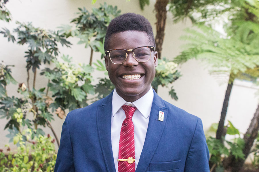 Vice President of External Relations Michael Wiafe