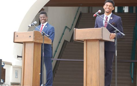 A.S. external relations, university affairs candidates square off in debate