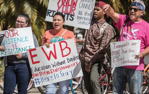 Protesters call for SDSU to offer more resources to undocumented students