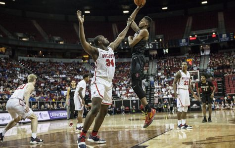 Aztecs set to battle top-seeded Nevada in MW tournament semifinals
