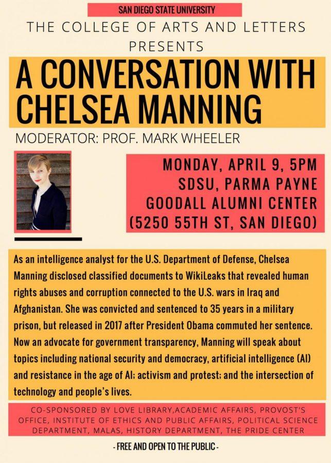 Chelsea+Manning+to+speak+at+San+Diego+State