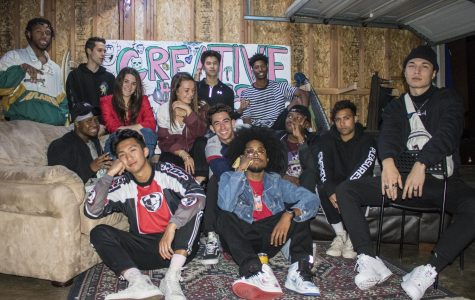 Campus collective promotes artists through throwback vibes