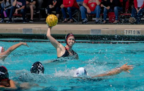 Water polo holds off Fresno State, 11-9, on Senior Day