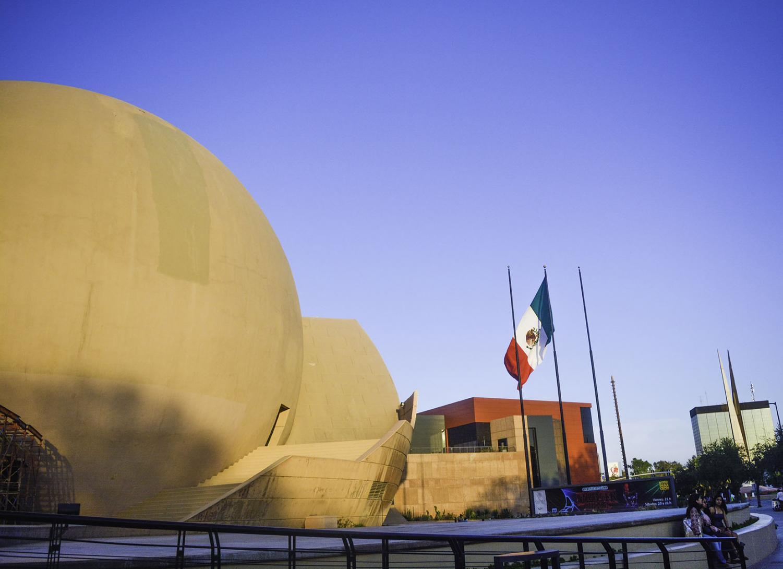 El Centro Cultural de Tijuana (CECUT) es uno de los emblemas de la ciudad.
