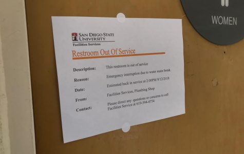 SDSU campus and nearby neighborhoods hit with water outage
