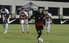 Early goals lead Aztecs to 2-1 victory over UNLV