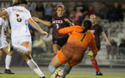 SDSU starts conference play with 2-1 victory over Wyoming