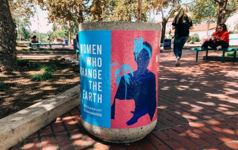 Artistic recycling bin campaign launches across campus
