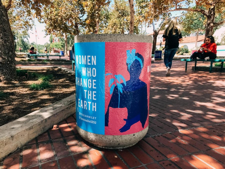 Artistic+recycling+bin+campaign+launches+across+campus