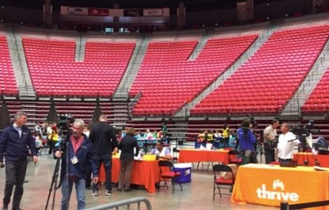 Meningitis vaccination clinics take over Viejas Arena after campus outbreak