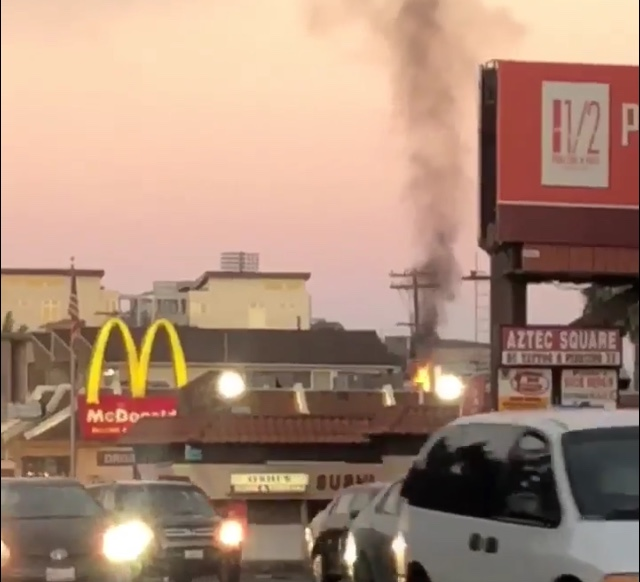 Grease fire damages College Area McDonald's