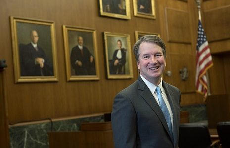 Newly-appointed Supreme Court Justice Brett Kavanaugh.