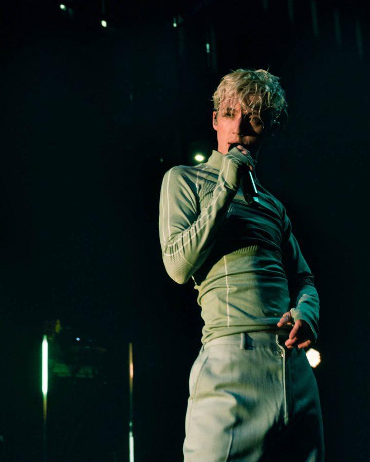 Australian pop vocalist Troye Sivan took the