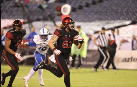 SDSU overcomes Air Force, lightning delay in 21-17 victory