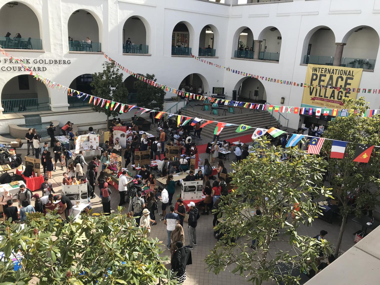 The International Peace Village on Nov. 15 attracted many new attendees as the organizers taught students about different countries and cultures.