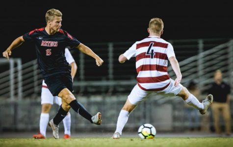 Men's soccer shut out at home by No. 6 Stanford