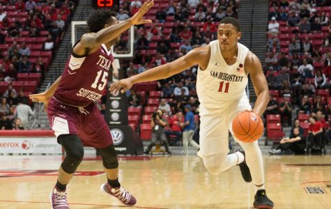 Aztecs cruise to 103-64 victory over Texas Southern