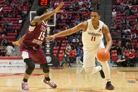 Watson's big night propels SDSU to 76-60 victory in home opener against Arkansas-Pine Bluff