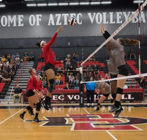 Volleyball takes two home wins over Boise, Utah