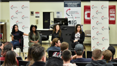 The Black Panther Party speaks to students about equality