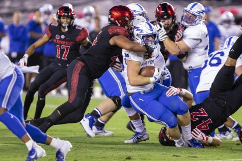 Surprising bowl invite doesn't dampen SDSU's successful season