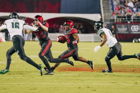 Column: Aztecs must utilize tight end Kahale Warring more