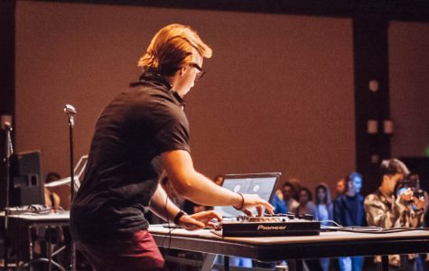 Student DJ incorporates travel experiences into music