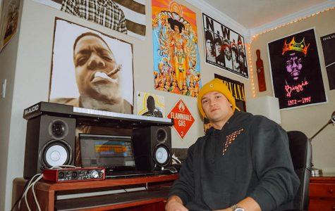 Student musician mixes punk and hip-hop