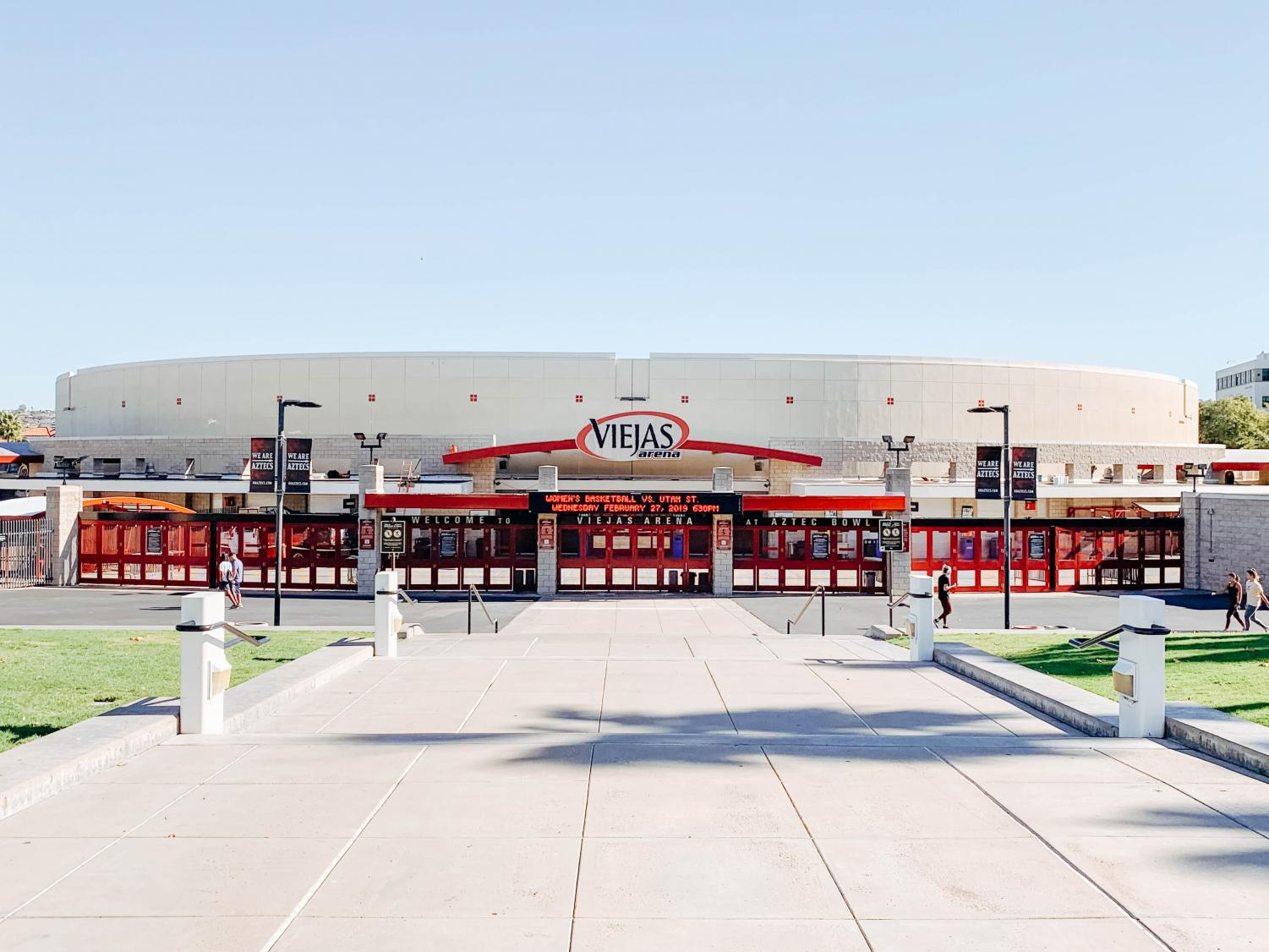 Upcoming concerts at Viejas Arena include KISS and Bob Seger.