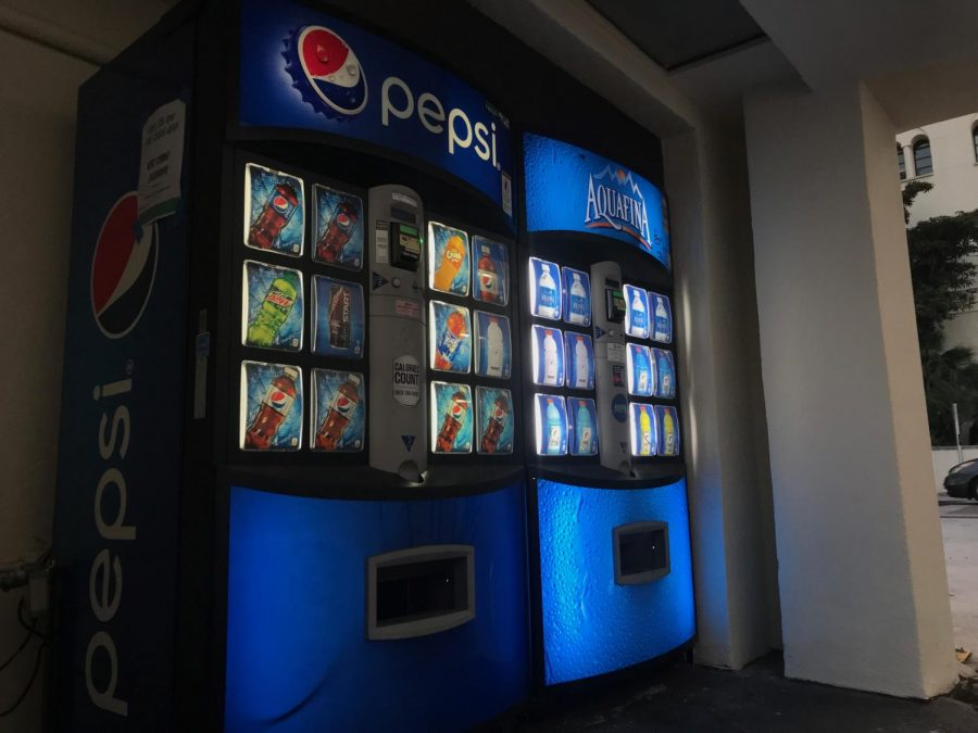 Vending machines will begin accepting OneCards as payment starting this semester.