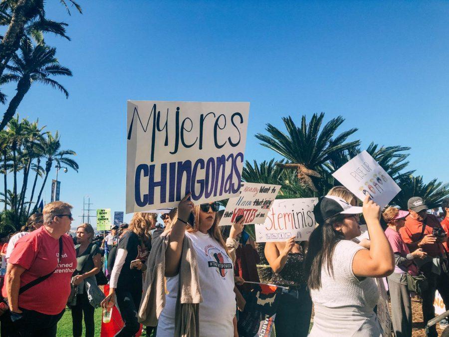 La+comunidad+de+San+Diego+se+uni%C3%B3+a+la+Marcha+de+las+Mujeres+el+19+de+enero%2C+levantando+carteles+sobre+los+derechos+de+las+mujeres%2C+la+separaci%C3%B3n+de+las+familias+y+el+cierre+parcial+del+gobierno.+