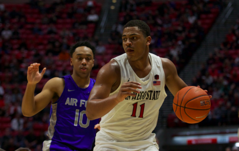 Aztecs defeat Air Force, 66-51, for second straight victory