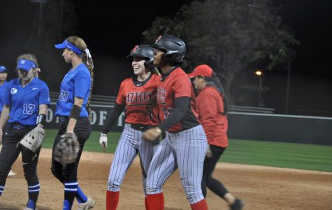 Softball rallies for walk-off victory against BYU