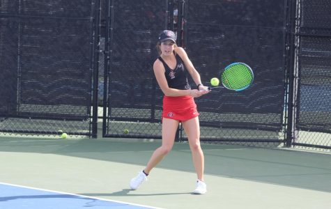 Women's tennis perfect record blemished following 4-3 loss to Long Beach State