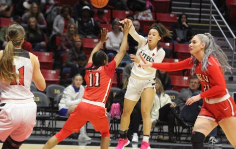 Women's basketball falls to UNLV, 62-49, for third straight loss