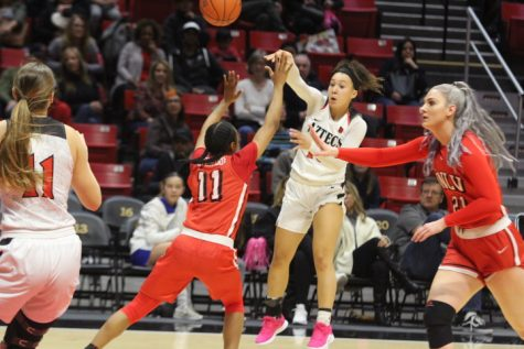 Aztecs' winning streak halted at five with loss to UNLV
