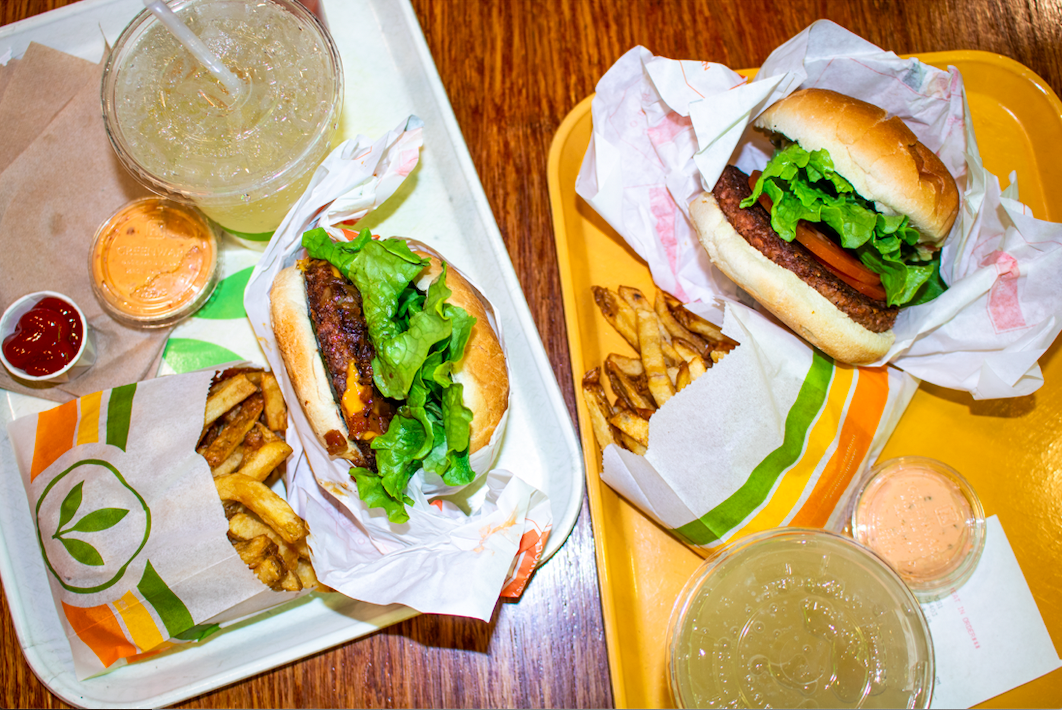 Plant Power, which is set to replace The Den next year, features an all-vegan menu with items such as hamburgers and shakes.
