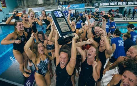 Swim and dive wins Mountain West Championship
