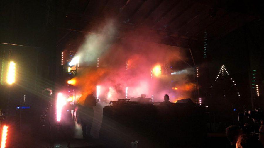 DJ Rebekah performing at CRSSD Festival.