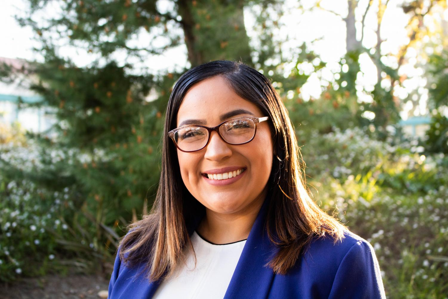 A.S. Vice President of External Relations Angelica Espinoza is the first Latina executive to serve at SDSU in 15 years.