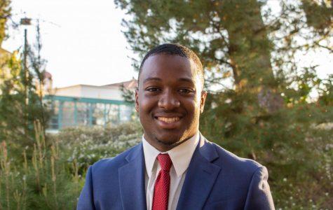 A.S. presidential candidate Christian Onwuka